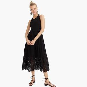 Black J Crew 2019 Long/Maxi Summer Dress